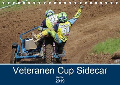 Veteranen Cup Sidecar Cross (Tischkalender 2019 DIN A5 quer), MX-Pfau