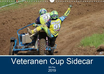 Veteranen Cup Sidecar Cross (Wandkalender 2019 DIN A3 quer), MX-Pfau