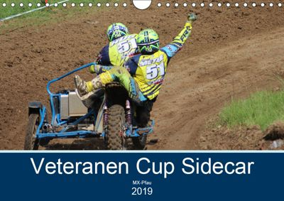 Veteranen Cup Sidecar Cross (Wandkalender 2019 DIN A4 quer), MX-Pfau