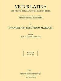 Vetus Latina: .17/9 Evangelium secundum Marcum