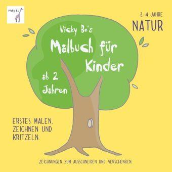 Vicky Bo's Malbuch für Kinder - Natur, Vicky Bo