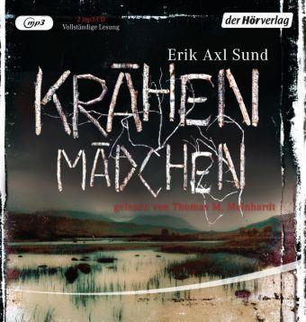 Victoria Bergman Trilogie Band 1: Krähenmädchen (2 MP3-CDs), Erik A. Sund