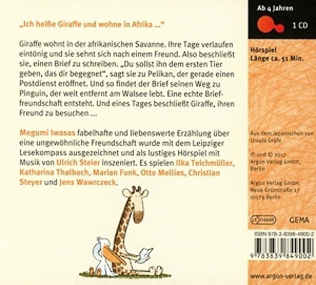Viele Grüße Deine Giraffe 1 Audio Cd Hörbuch Günstig Bestellen