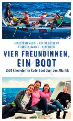 Vier Freundinnen, ein Boot, Helen Butters, Janette Benaddi, Niki Doeg, Frances Davies