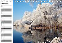 Vier Jahreszeiten im Land Brandenburg (Tischkalender 2019 DIN A5 quer) - Produktdetailbild 1