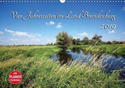 Vier Jahreszeiten im Land Brandenburg (Wandkalender 2019 DIN A3 quer), Anja Frost
