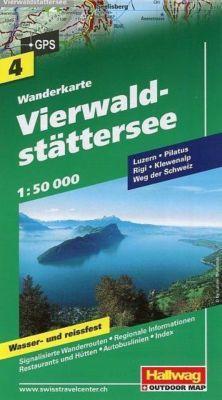 Vierwaldstättersee Wanderkarte Nr. 4, 1:50 000