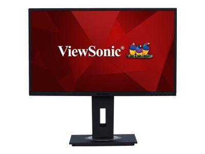 VIEWSONIC VG2448 60,96cm 24Zoll IPS LED Monitor Display Port HDMI VGA USB 3.0 Pivot Tilt Svivel Height Adjustable