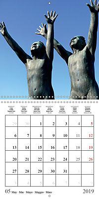 Vigeland Sculpture Park Oslo (Wall Calendar 2019 300 × 300 mm Square) - Produktdetailbild 5
