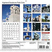 Vigeland Sculpture Park Oslo (Wall Calendar 2019 300 × 300 mm Square) - Produktdetailbild 13
