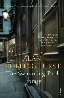 Vintage Blue: The Swimming-Pool Library, Alan Hollinghurst