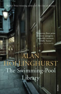 Vintage Blue: The Swimming-Pool Library, Alan Hollinghurst