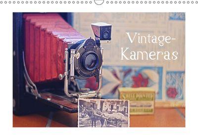 Vintage-Kameras (Wandkalender 2019 DIN A3 quer), KPH u.a.