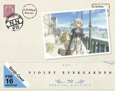 Violet Evergarden-St.1 Vol.1 Bd (Limited Speci, Diverse Interpreten
