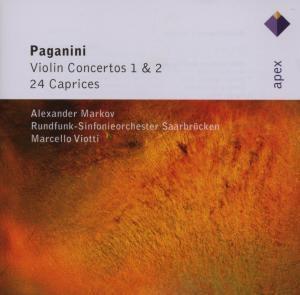 Violin Concertos Nr. 1, 2 & 24 Capricen, Alexander Markov