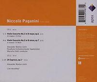 Violin Concertos Nr. 1, 2 & 24 Capricen - Produktdetailbild 1