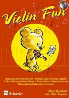 Violin Fun, m. Audio-CD, Dinie Goedhart