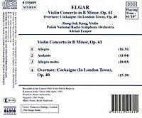 Violin Konzert H-Moll*Naxos - Produktdetailbild 1