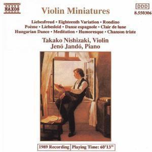 Violin-Miniaturen, Takako Nishizaki, Jenö Jando