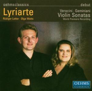 Violin Sonatas, Lyriarte