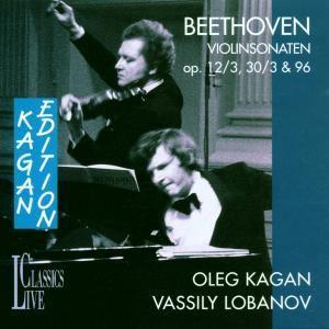 Violinensonaten Op.12/3, 30/3 & 96, Oleg Kagan, Vassily Lobanov