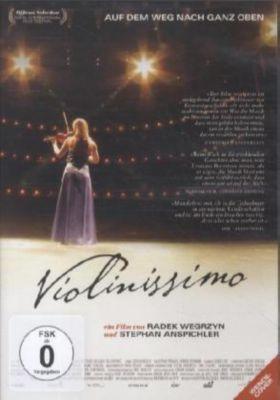 Violinissimo, 1 DVD, deutsch-englische Originalfassung