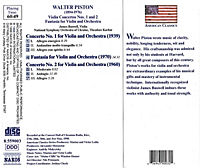 Violinkonzert 1+2/Fantasia - Produktdetailbild 1