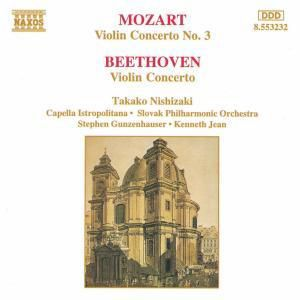 Violinkonzert 3/violinkonz. D, Nishizaki, Gunzenhauser, Jean