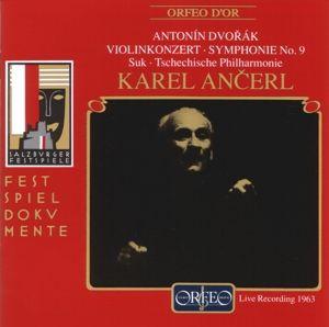 Violinkonzert A-Moll Op.53/Sinfonie 9, Suk, Ancerl, Tp