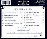 Violinkonzert/Berlin Im Licht/Kl.Dreigroschenmusik - Produktdetailbild 1