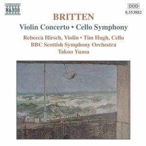 Violinkonzert/Cellosymphonie, Hirsch, Hugh, Yuasa, Scottish So
