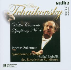 Violinkonzert D-Dur/Sinfonie 4, Zukerman, Kubelik, Sobr