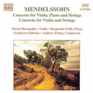 Violinkonzert/Doppelkonzert, Bisengaliew, Frith, Penny