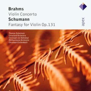 Violinkonzert/Fantasie C-Dur, T. Zehetmair, Clo, Eschenbach, Pol