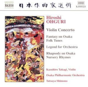 Violinkonzert/Fantasy On Osaka, Takagi, Shimono, Osaka Po