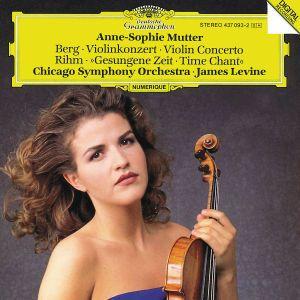 Violinkonzert/Gesungene Zeit, Anne-Sophie Mutter, James Levine, Cso