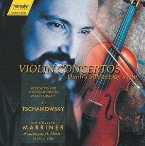 Violinkonzert/Meditation/Romeo, Dmitry Sitkovetsky, Neville Marriner