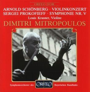 Violinkonzert Op.36/Sinfonie 5 B-Dur Op.100, Krassner, Mitropoulos, Sobr