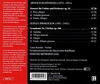 Violinkonzert Op.36/Sinfonie 5 B-Dur Op.100 - Produktdetailbild 1