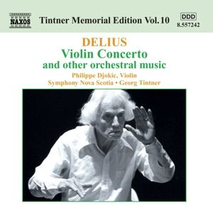 Violinkonzert / Orchesterwerke, Djokic, Tintner, SO Nova Scotia