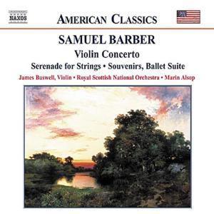 Violinkonzert/Souvenirs/+, James Buswell, Alsop, Rsno