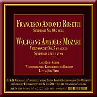 Violinkonzert/Symphonie G-Moll - Produktdetailbild 1