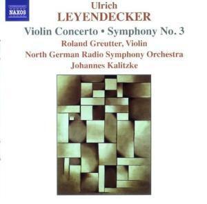 Violinkonzert & Symphonie Nr. 3, Greutter, Kalitzke, Ndr So