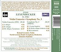 Violinkonzert & Symphonie Nr. 3 - Produktdetailbild 1