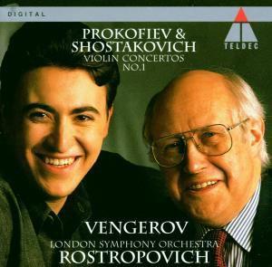 Violinkonzerte, Vengerov, Rostropowitsch, Lso