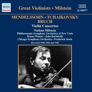 Violinkonzerte, Nathan Milstein