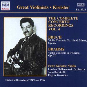 Violinkonzerte, Fritz Kreisler, Goossens, Barbir