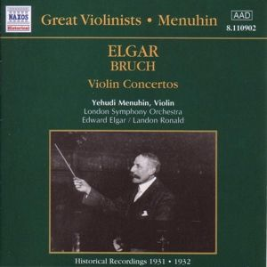 Violinkonzerte, Menuhin, Elgar, Ronald, Lso