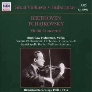 Violinkonzerte, Bronislaw Huberman, Szell, Stein