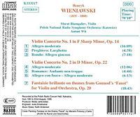 Violinkonzerte 1+2/Fantasie - Produktdetailbild 1